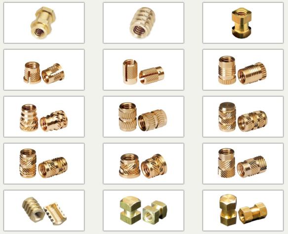 M6 Brass inserts